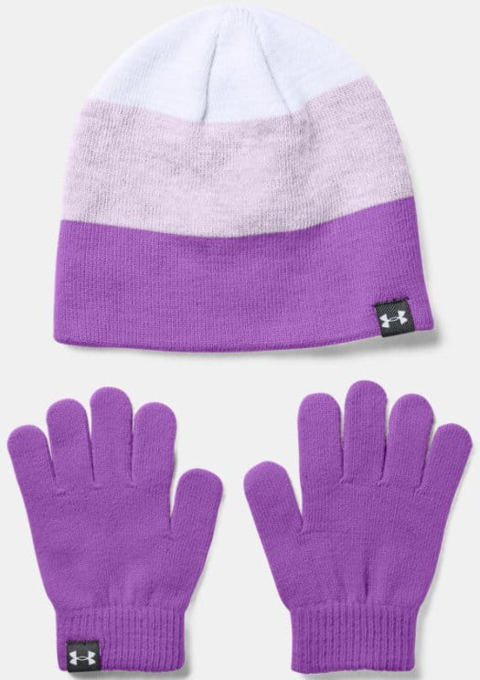Hat Under Armour Under Armour G Beanie Glove Combo