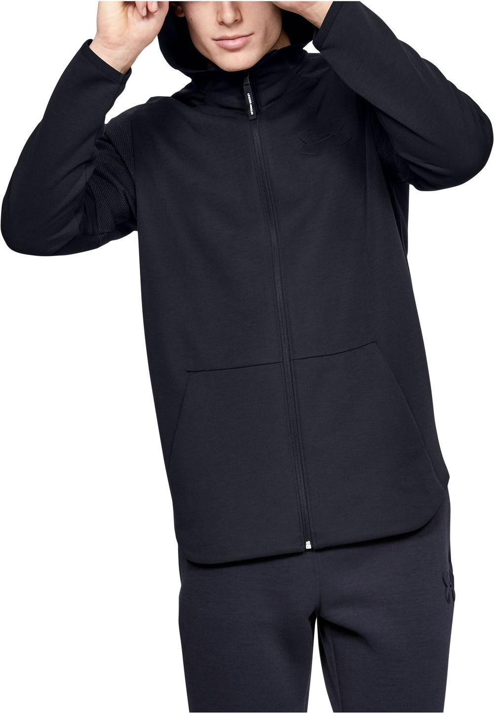 Invitación Respecto a Usual  Hooded sweatshirt Under Armour UNSTOPPABLE MOVE LIGHT FZ - Top4Fitness.com