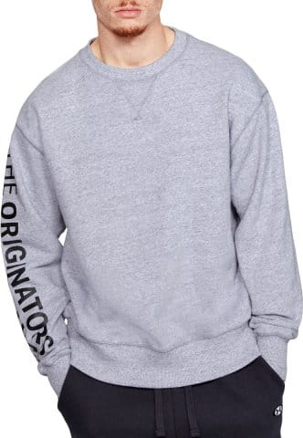 UA PERFORMANCE ORIGINATORS FLEECE CREW-G