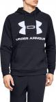 Pánská mikina s kapucí Under Armour Rival Fleece Logo
