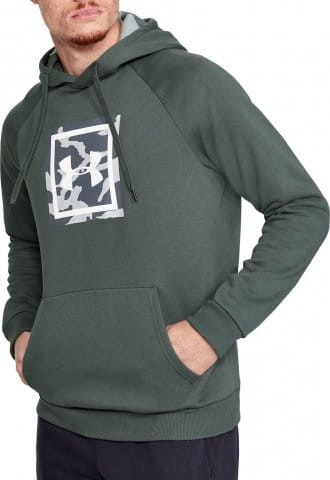 Hanorac cu gluga Under Armour RIVAL FLEECE PRINTED HOODIE