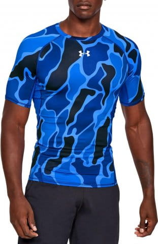 Camiseta de compresión Under Armour UA ARMOUR HG Print SS
