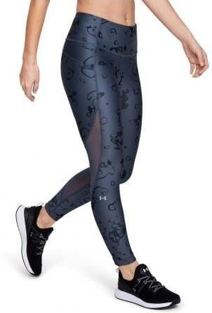 Kalhoty Under Armour UA HG Armour Ankle Crop - Ako Print-GRY