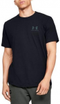 UA Sportstyle LC Back Tee-BLK
