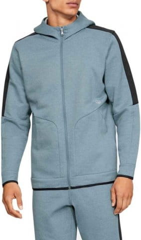 Sweatshirt met capuchon Under Armour Athlete Recovery Fleece Full Zip