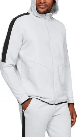 Trenirka s kapuljačom Under Armour Athlete Recovery Fleece Full Zip