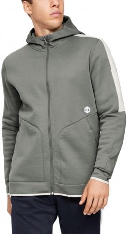 Mikina s kapucňou Under Armour Athlete Recovery Fleece Full Zip