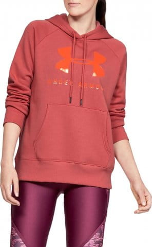 Hanorac cu gluga Under Armour RIVAL FLEECE SPORTSTYLE GRAPHIC HOODIE