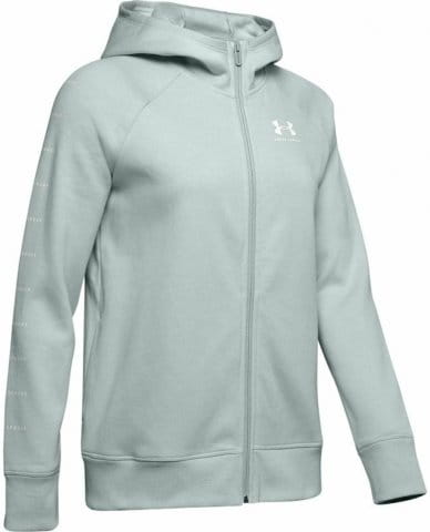 Sudadera con capucha Under Armour RIVAL FLEECE SPORTSTYLE LC SLEEVE GRAPHIC FZ