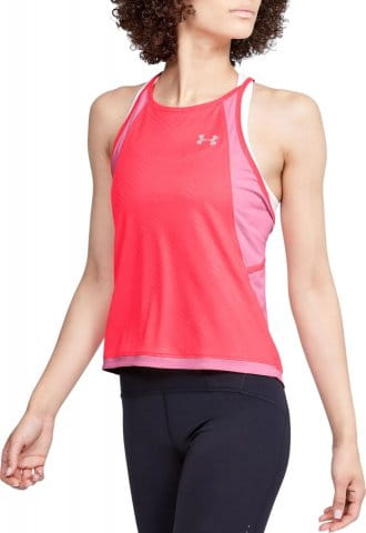 Camiseta sin mangas Under Armour W UA Qualifier ISO-CHILL Embossed Tank