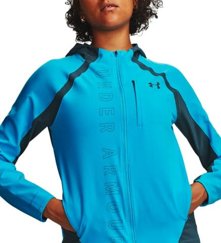 Chaqueta con capucha Under Armour W UA Qualifier OutRun the Storm Jacket