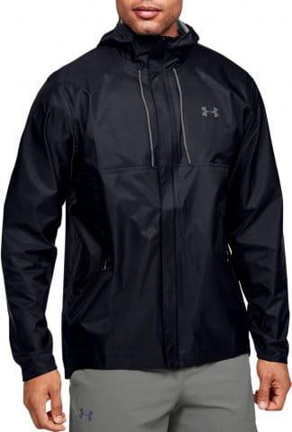 Under Armour UA CLOUDSTRIKE SHELL - BLK Kapucnis kabát
