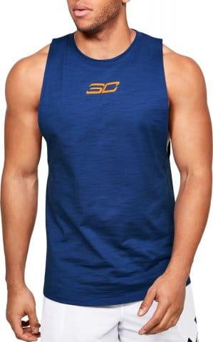 Camiseta sin mangas Under Armour SC30 BASKETBALL TANK