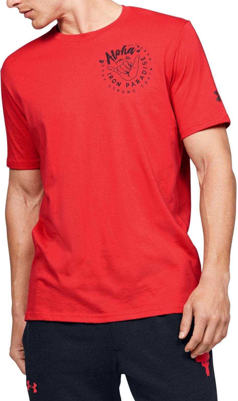 navegación hacer los deberes Premisa  Camiseta Under Armour Project Rock Iron Paradise SS - Top4Fitness.es