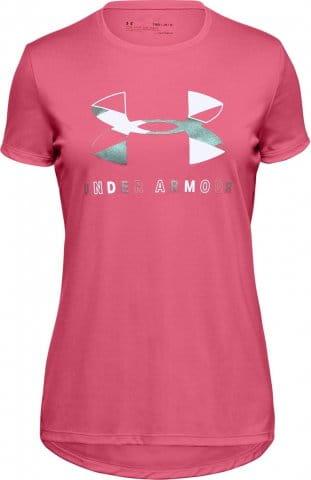 Dívčí tričko s krátkým rukávem UA Tech Graphic Big Logo