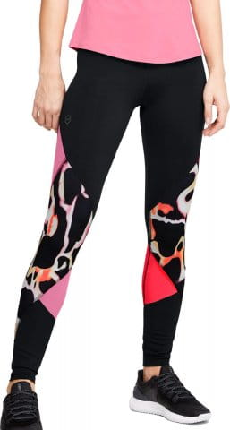 UA Rush Print Color Block Leggings