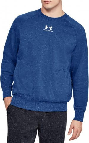 SPECKLED FLEECE CREW