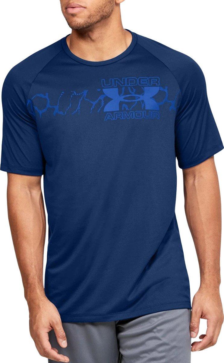 Tremendo menor Hecho un desastre  Camiseta Under Armour UA TECH 2.0 GRAPHIC SS - Top4Running.es