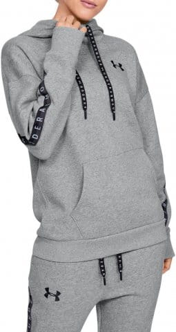 Mikina s kapucňou Under Armour FLEECE HOODIE TAPED WM