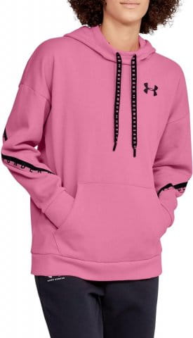 Under Armour FLEECE HOODIE TAPED WM Kapucnis melegítő felsők