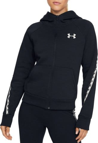 Mikina s kapucňou Under Armour Fleece Taped WM FZ Hoodie