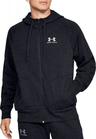 Hanorac cu gluga Under Armour SPECKLED FLEECE FZ HOODIE