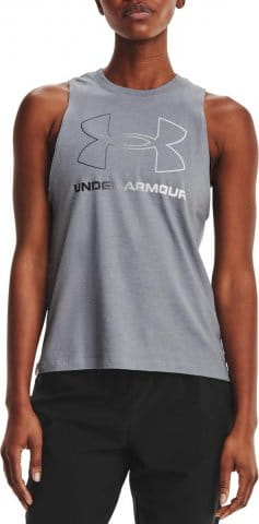 Tielko Under Armour Live Sportstyle Graphic Tank-GRY