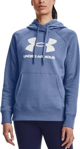 Mikina s kapucňou Under Armour Rival Fleece Logo Hoodie-BLU