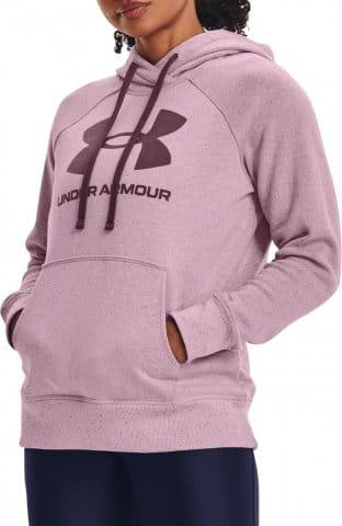 Mikina s kapucňou Under Armour Rival Fleece Logo Hoodie-PNK