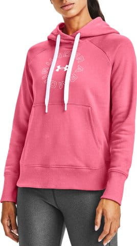 Hanorac cu gluga Under Armour Rival Fleece Metallic Hoodie