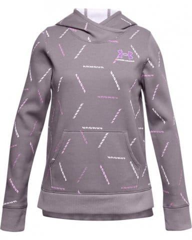 Mikina s kapucňou Under Armour Rival Fleece Printed Hoodie