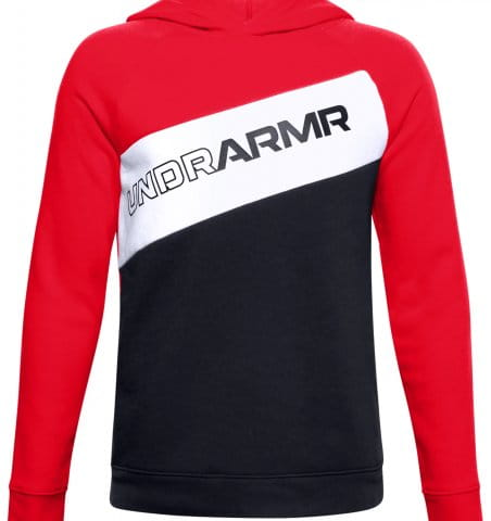 Hanorac cu gluga Under Armour Boys Graphic P/O Hoodie