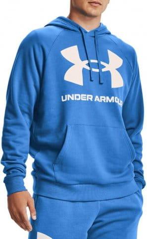 Under Armour UA Rival Fleece Big Logo HD-BLU Kapucnis melegítő felsők
