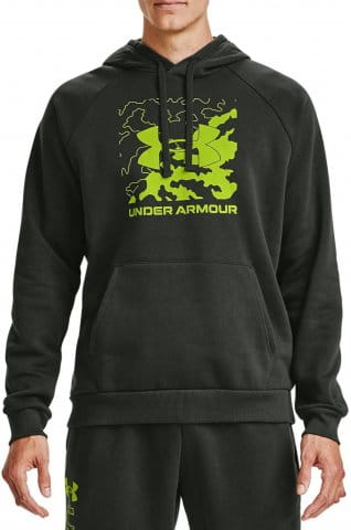 Under Armour UA Rival Fleece Box Logo HD Kapucnis melegítő felsők