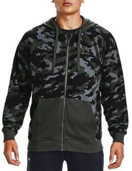 Mikina s kapucňou Under Armour UA Rival Fleece Camo FZ