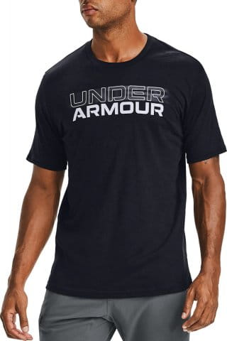 Under Armour Under Armour BLURRY LOGO WORDMARK Rövid ujjú póló