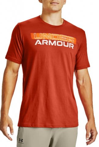 Tricou Under Armour Under Armour BLURRY LOGO WORDMARK
