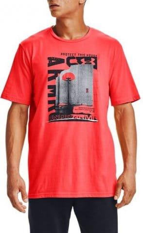 T-Shirt Under Armour UA BASKETBALL PHOTOREAL SS