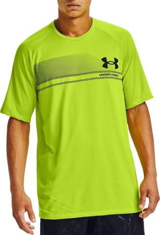 T-Shirt Under Armour UA LOGO WORDMARK TECH SS