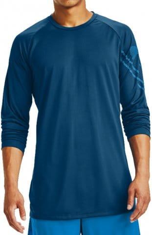 Tričko s dlhým rukávom Under Armour Under Armour GRADIENT LOGO TECH