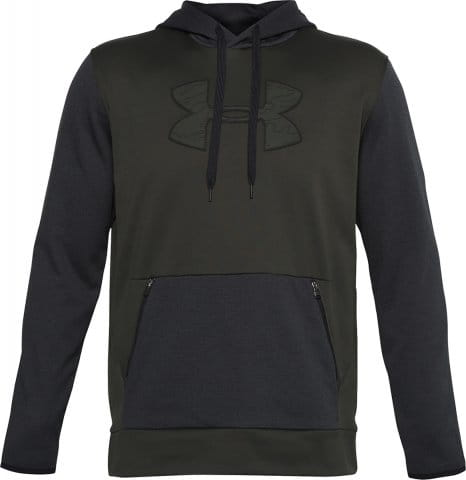 Under Armour UA AF Textured Big Logo HD Kapucnis melegítő felsők