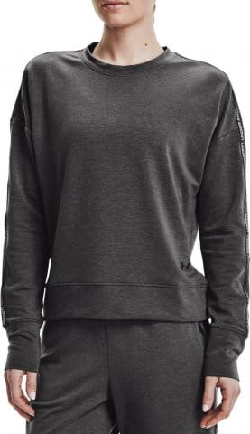 Mikina Under Armour UA Rival Terry Taped Crew-GRY