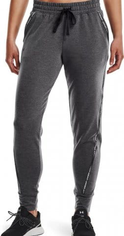 Nohavice Under Armour UA Rival Terry Taped Pant-GRY