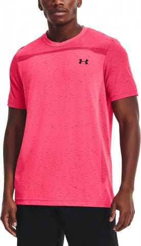 T-Shirt Under Armour UA Seamless SS-PNK