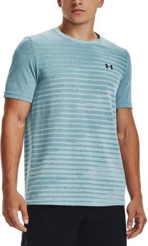 T-Shirt Under Armour UA Seamless Fade SS-BLU