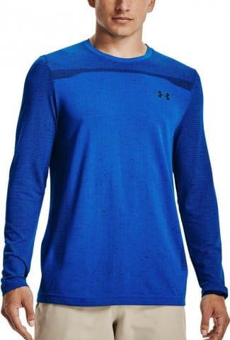 Langarm-T-Shirt Under Armour UA Seamless LS-BLU