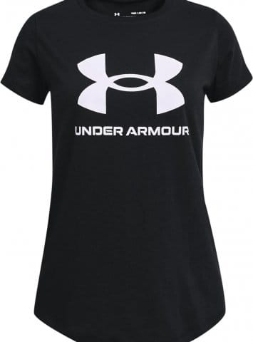 Tričko Under Armour Live Sportstyle Graphic SS-BLK