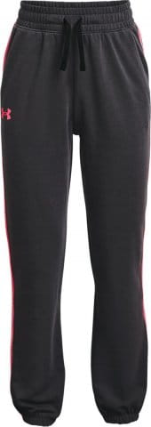 Nohavice Under Armour Rival Terry Taped Pant-BLK