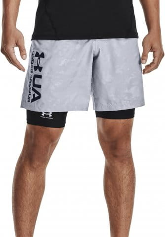 Shorts Under Armour UA Woven Emboss Shorts-GRY