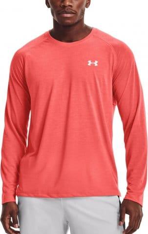 Langarm-T-Shirt Under Armour UA Streaker LS-RED